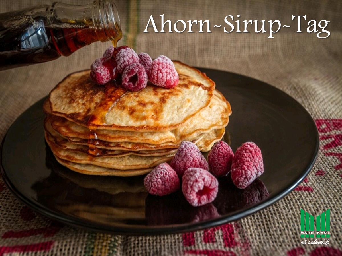 Ahorn-Sirup-Tag