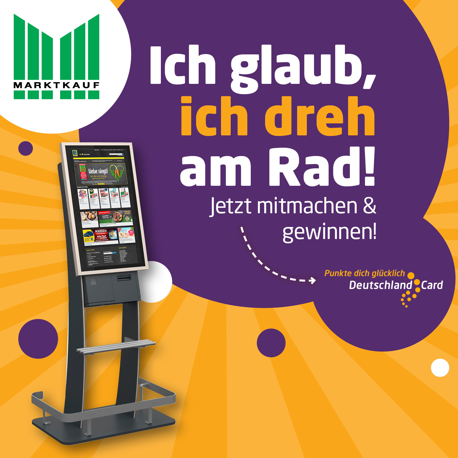 DeutschlandCard Glücksrad in deinem Markt